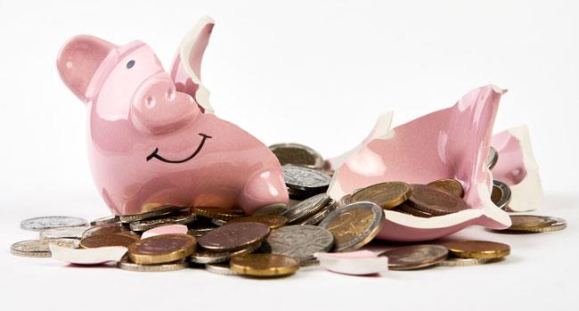 brake open the piggy bank for film poster design cost