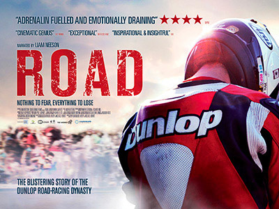 Quad poster design by Bobo for the film Road