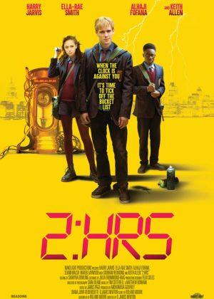 2 HRS film poster original 1 sheet poster design by Bobo