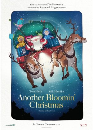 Another Bloomin Christmas original 1 sheet film poster design by Bobo