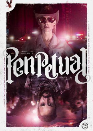 Perpetual original 1 sheet film poster design by Bobo