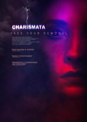 Charismata original 1 sheet film poster design by Bobo