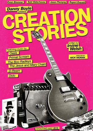 Creation Stories original 1 sheet film poster design by Bobo