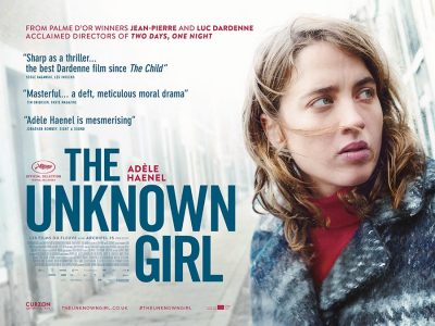 The Unknown Girl original film poster design by Bobo