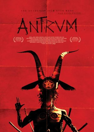 Antrum - original horror 1 sheet film poster design by Bobo