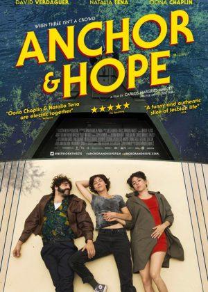 Anchor and Hope original 1 sheet film poster design by Bobo