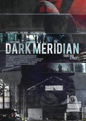 Dark Meridian original 1 sheet film poster design by Bobo