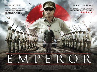 Original quad poster design by Bobo for the film Emperor