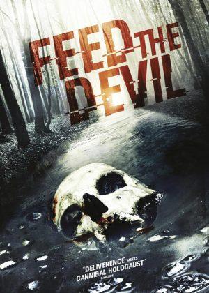 Feed the Devil original 1 sheet film poster design by Bobo