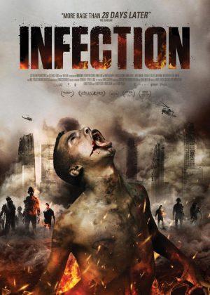 Infection original 1 sheet film poster design by Bobo