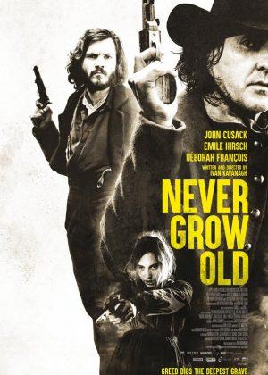 Never Grow Old original 1 sheet film poster design by Bobo