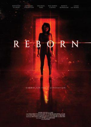 Reborn original 1 sheet film poster design by Bobo