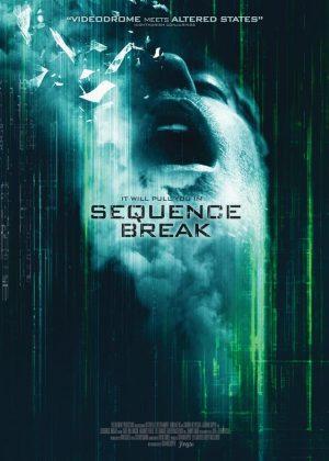 Sequence Break original 1 sheet film poster design by Bobo