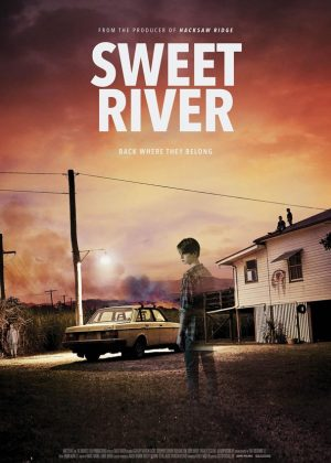 Sweet River original 1 sheet film poster design by Bobo