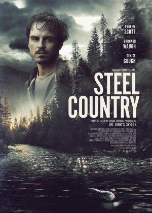 Steel Country original 1 sheet film poster design by Bobo