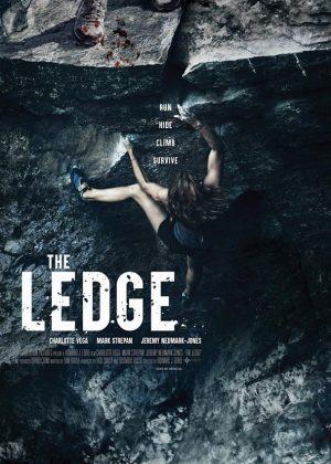 The Ledge original 1 sheet film poster design by Bobo