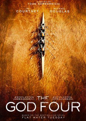 The God Four original 1 sheet film poster design by Bobo