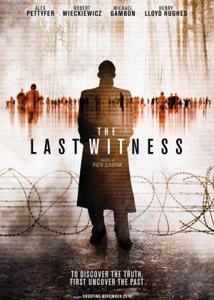 The Last Witness original 1 sheet film poster design by Bobo