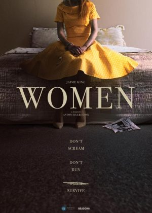 Women original 1 sheet film poster design by Bobo