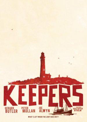 Keepers original 1 sheet film poster illustration design by Bobo