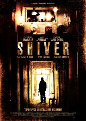 Shiver original 1 sheet film poster design by Bobo