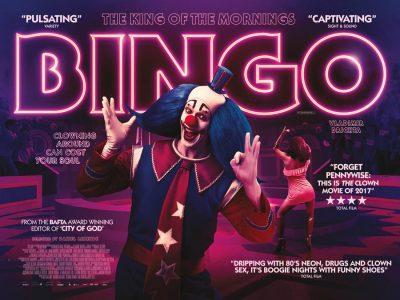Bingo original film poster design by Bobo