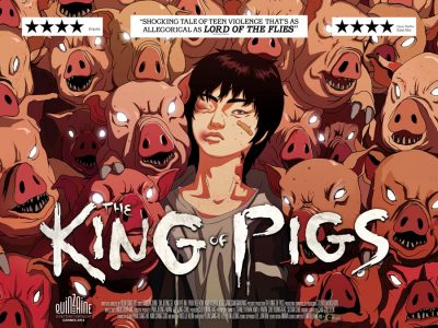 The King of Pigs original film poster design by Bobo