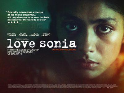 Love Sonia original film poster design by Bobo
