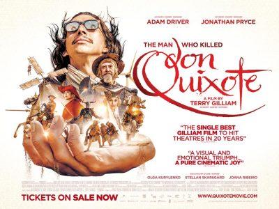 The Man Who Killed Don Quixote film poster design by Bobo