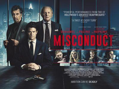 Misconduct original film poster design by Bobo