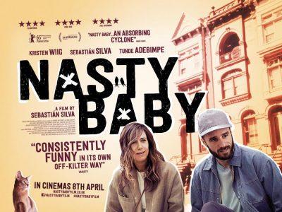 Nasty Baby original film poster design by Bobo