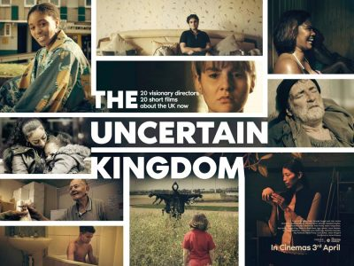 The Uncertain Kingdom original film poster design by Bobo