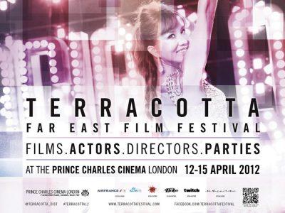Terracotta Film Festival 2012 poster and branding design by Bobo