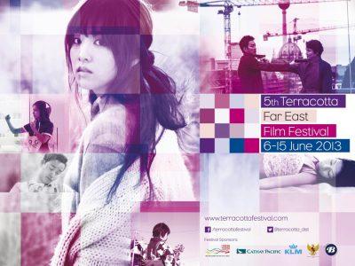 Terracotta Film Festival 2013 poster and branding design by Bobo