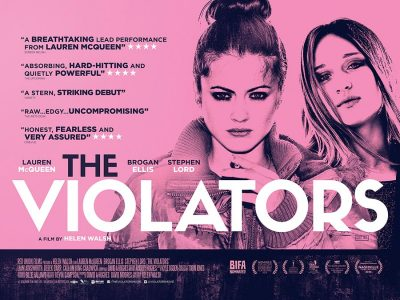 The Violators original film poster design by Bobo