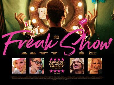 Freak Show poster design by Bobo