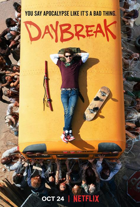 Daybreak TV poster