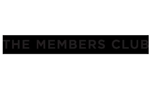 The Members Club Logo branding