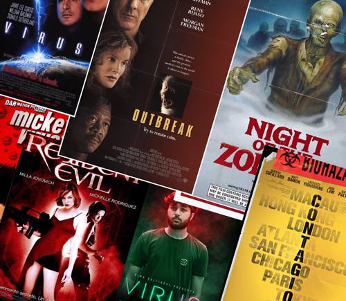 virus film poster designs