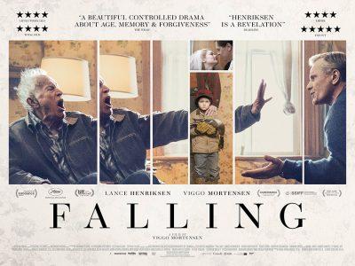 Original quad poster design : Falling