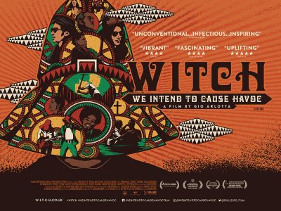 Adaptation quad poster design : WITCH