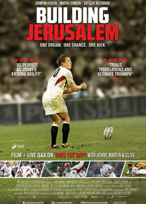 Original Sales poster art by Bobo : Building Jerusalem