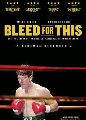 Adaptation poster art by Bobo : Bleed for This