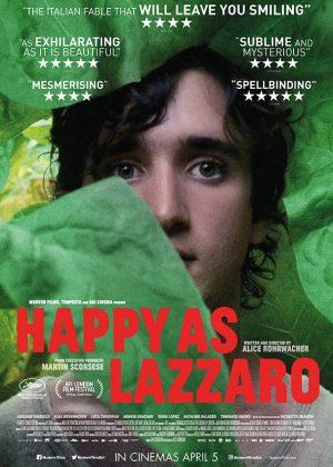 Adaptation poster art by Bobo : Happy As Lazzaro