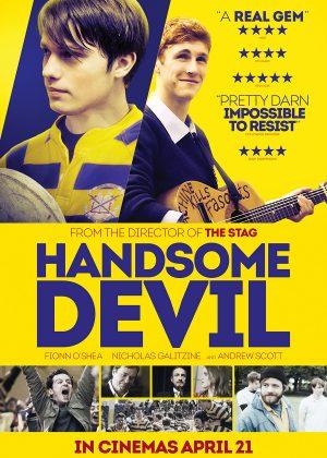 Original poster art by Bobo : Handsome Devil