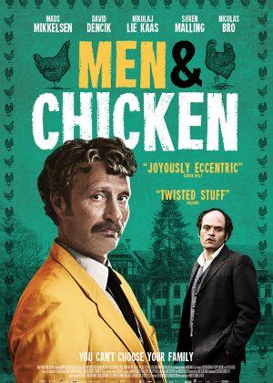 Original Sales poster art by Bobo : Men & Chicken