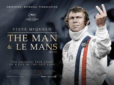 Original Quad poster design : The Man & Le Mans