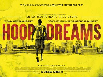 Original Quad poster design : Hoop Dreams