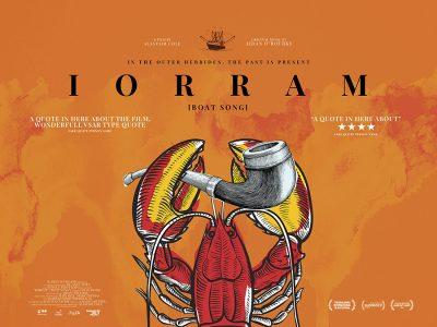 Original Quad poster design : Iorram