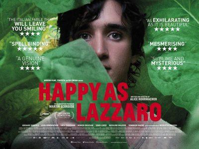 Adaptation Quad poster design : Happy as Lazzaro